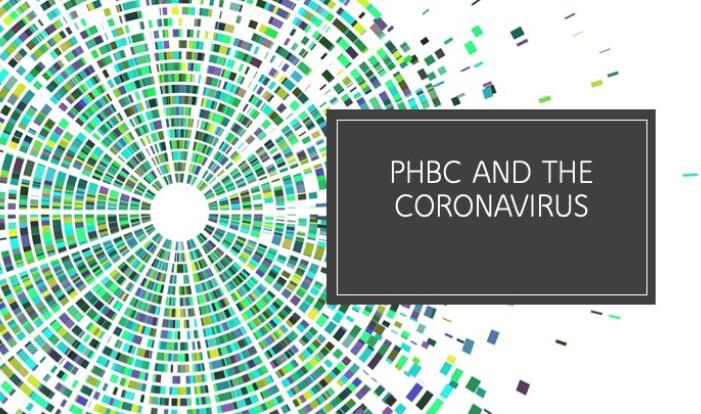 PHBC and the Coronavirus